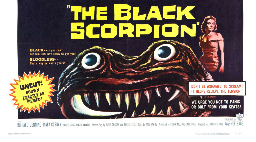 THE BLACK SCROPION 1957