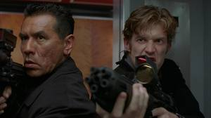 Wes Studi and Jason Flemyng