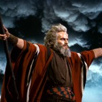 Charlton Heston is Moses