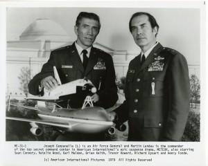 Joseph Campanella and Martin Landau