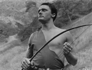 Robert Vaughn in Teenage Cave Man
