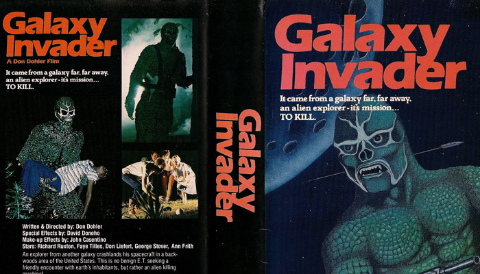 The Galaxy Invader 1985