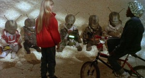 Ariana Richards and invaders