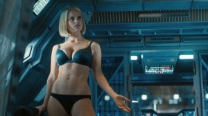 Alice Eve as Carol Marcus